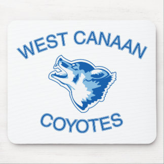 West Canaan Coyotes Mouse Pad