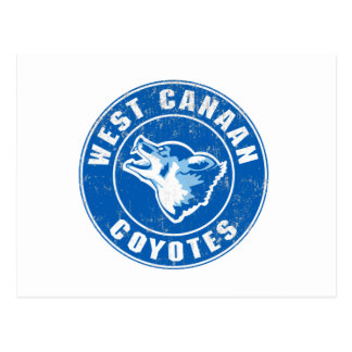West Canaan Coyotes Postcard