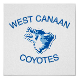 West Canaan Coyotes Print