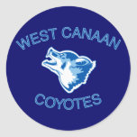 West Canaan Coyotes Stickers