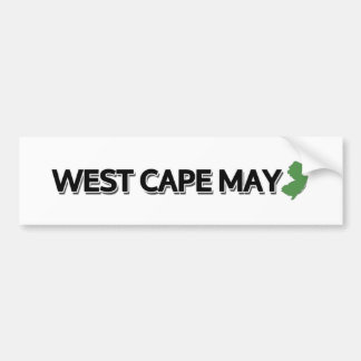 West Cape May, New Jersey Bumper Sticker