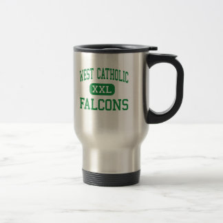 West Catholic - Falcons - High - Grand Rapids 15 Oz Stainless Steel Travel Mug