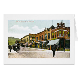 West Center Street, Pocatello, Idaho Card