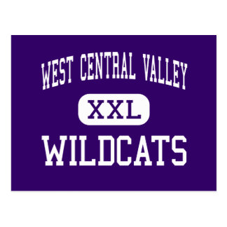 West Central Valley - Wildcats - High - Stuart Postcard