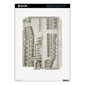 West Cheap as it appeared in the year 1585, engrav iPad 3 Decal