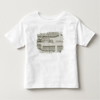West Cheap as it appeared in the year 1585, engrav Toddler T-shirt