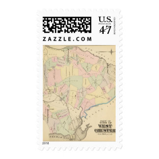West Chester, New York Postage