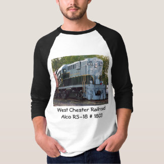 West Chester Railroad Alco RS-18 #1803 T-Shirt