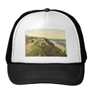 West cliff, Clacton-on-Sea, England classic Photoc Hat