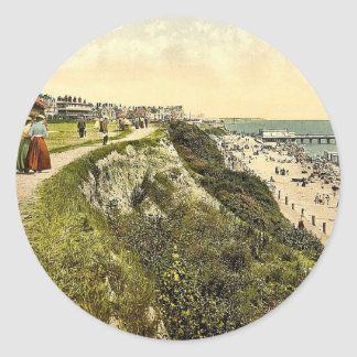 West cliff Clacton-on-Sea England classic Photoc Sticker