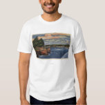 West Cliff Drive View of Pier and Casino T-Shirt
