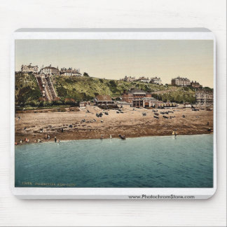 West Cliff, Folkestone, England rare Photochrom Mousepads