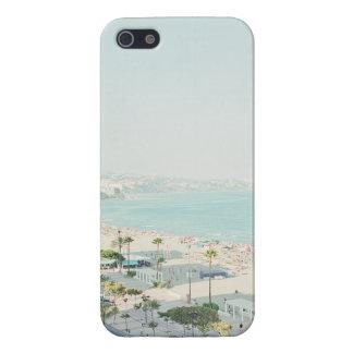 West Coast Beach Town Scene Case For iPhone SE/5/5s