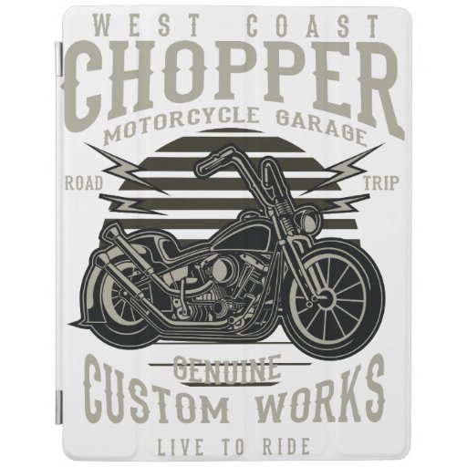 west coast chopper iPad smart cover