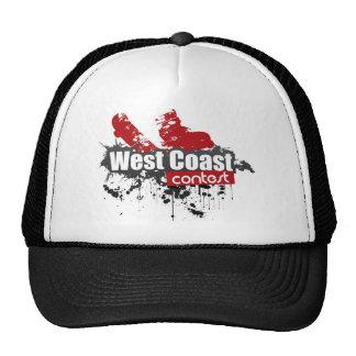 west coast contest 2011 course hats