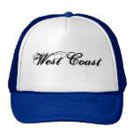 West Coast CUSTOM CAPS BY WASTELANDMUSIC.COM Hat