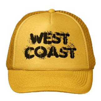 West Coast CUSTOM CAPS BY WASTELANDMUSIC.COM Trucker Hat