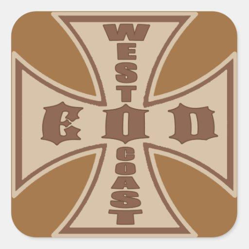 West Coast EOD Sticker (Desert)