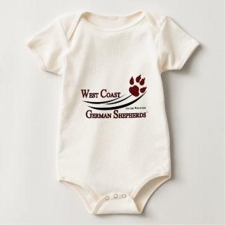 West Coast German Shepherds Fan Gear Baby Bodysuit