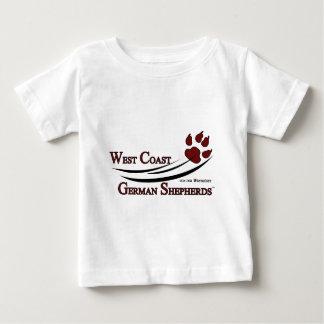 West Coast German Shepherds Fan Gear Baby T-Shirt