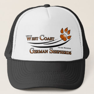 West Coast German Shepherds Fan Gear Trucker Hat