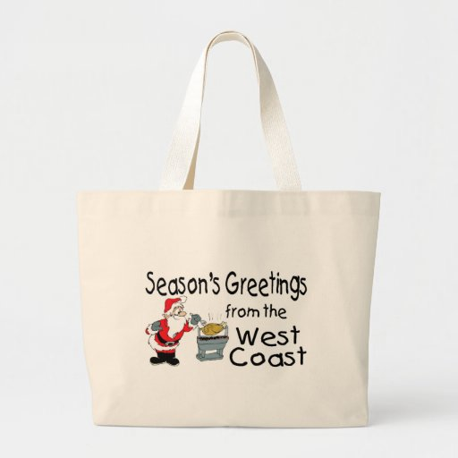 West Coast Greetings BBQ Tote Bags