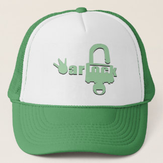 West Coast = Hollywood Warlock Trucker Hat