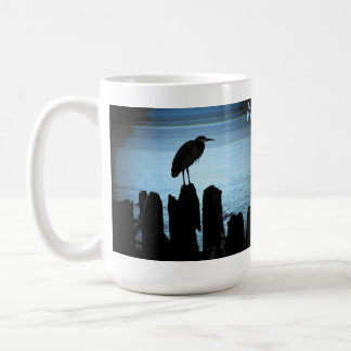 West Coast Moonlit bird Coffee Mugs