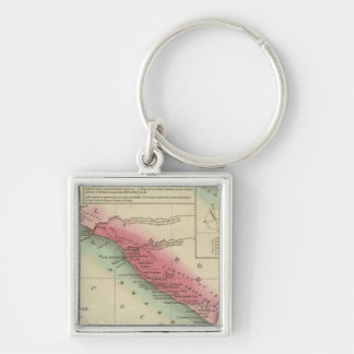 West Coast Of Africa, from Sierra Leone Keychain