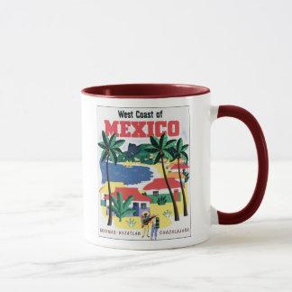 West Coast of Mexico Guaymas, Mazatlan, Guadalajar Mug