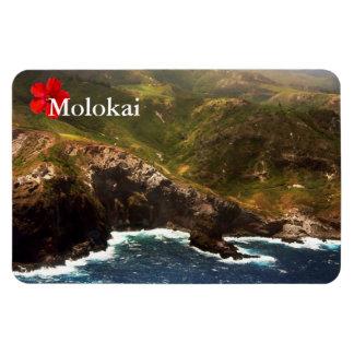 West Coast of Molokai Rectangular Magnets