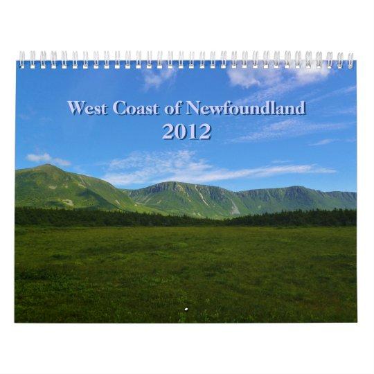 West Coast of Newfoundland Calendar