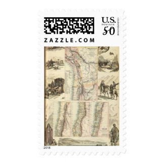 West Coast of South America Postage