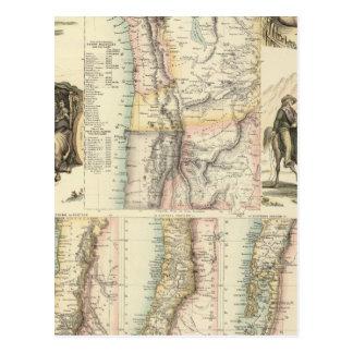 West Coast of South America Postcard