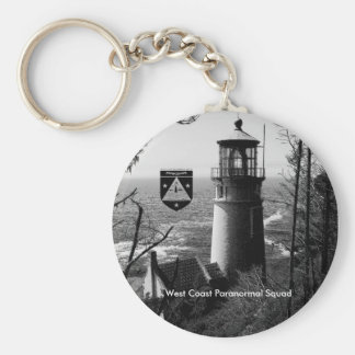 West Coast Paranormal Squad Light House Key Chain