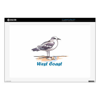 WEST COAST DECAL FOR LAPTOP