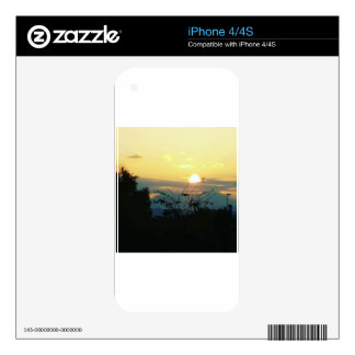 west coast sunset decals for iPhone 4S