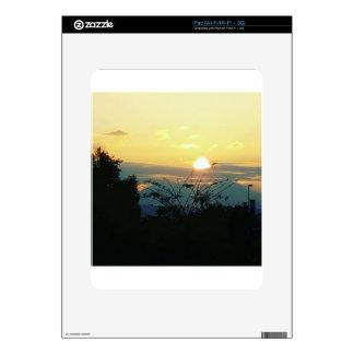 west coast sunset skin for iPad