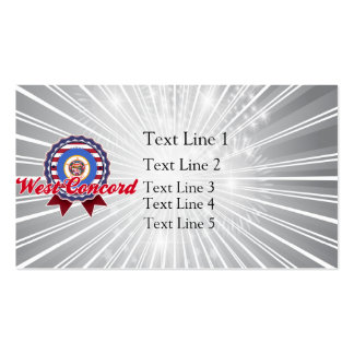 West Concord, MN Business Card Template