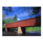 West Cornwall Covered Bridge Postcard