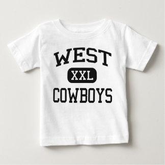 West - Cowboys - High School - Denver Colorado Baby T-Shirt