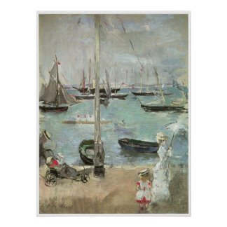 West Cowes, Isle of Wight, Berthe Morisot Poster