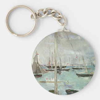 West Cowes, Isle of Wight by Berthe Morisot Keychain