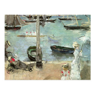 West Cowes, Isle of Wight by Berthe Morisot Postcard