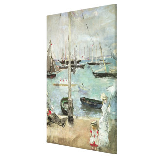 West Cowes, Isle of Wight, Morisot, Vintage Art Stretched Canvas Prints