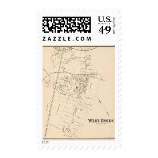 West Creek, New Jersey Postage