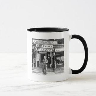 West Danville, VT, Post Office, 1940s Mug