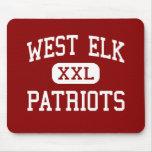 West Elk - Patriots - High School - Howard Kansas Mouse Pads