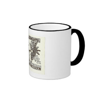 West End Cafe, Norfolk VA Ringer Mug