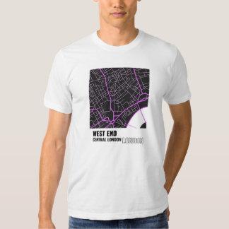 West End, camiseta de Londres central, Londres en Playera